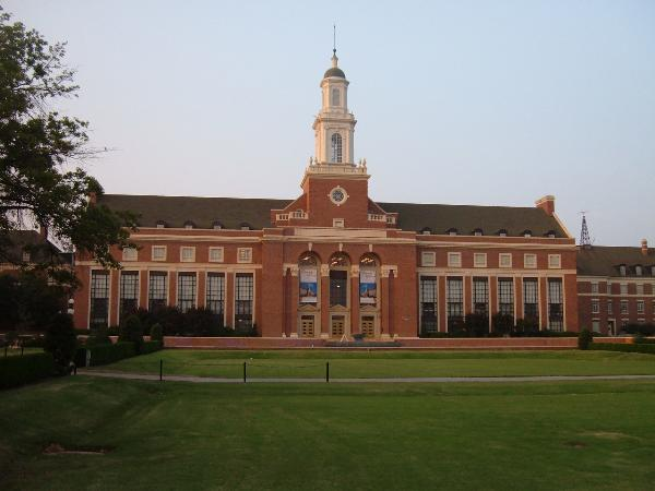 Edmon Low Library at Oklahoma State University: the new home of the Dick Otte Collection. OSU's college of Engineering, Architecture, and Technology is home to the nation's only ABET accredited Fire Protection and Safety Technology program.