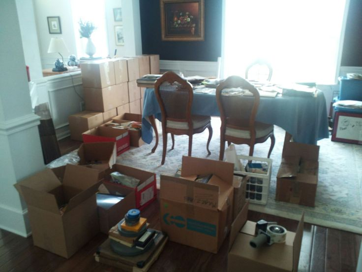 "I took over my mother's dining room for weeks as I ""repackaged"" more than 60 years of collected materials in what will now become the ""Dick Otte Collection"" at OSU Edmon Low Special Collections Library"